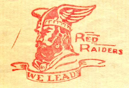 The Red Raiders Stamp